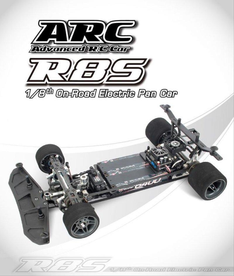 画像1: R8S 1/8スケール電動パワーオンロードレーシングカーキット