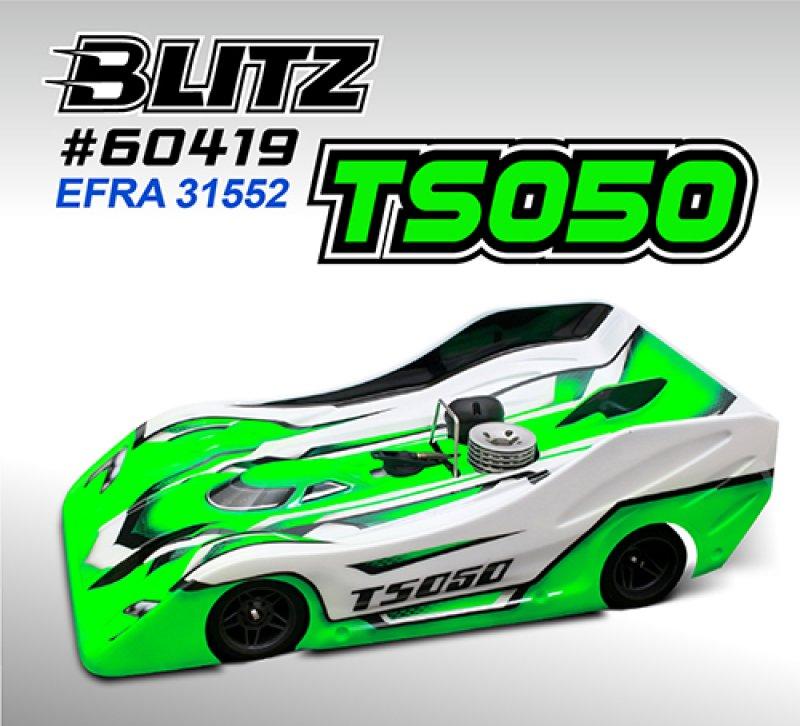 画像1: BLITZ TS050 1/8GPレーシング対応ボディセット