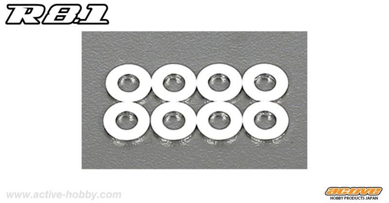 画像1: 4x8x1mm シム (8コ)