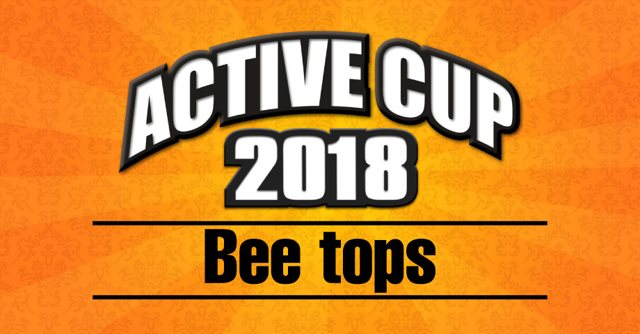 ACTIVE CUP in Bee tops